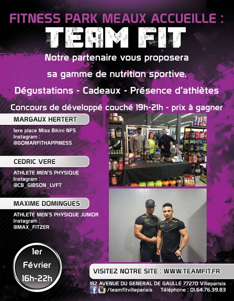 flyer teamfit